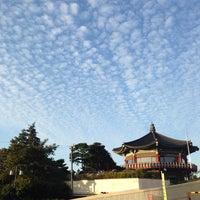 Photo taken at Bukak Palgakjeong by Sangil K. on 10/8/2013