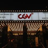 Photo taken at CGV Cheongdam Cinecity by Sophia H. W. on 9/27/2012