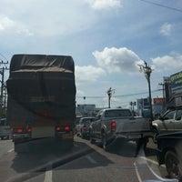 Photo taken at Zero Kilometer of Khon Kaen by au+ k. on 7/7/2013