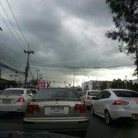 Photo taken at Zero Kilometer of Khon Kaen by au+ k. on 9/10/2013