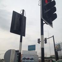 Photo taken at Zero Kilometer of Khon Kaen by au+ k. on 4/23/2013