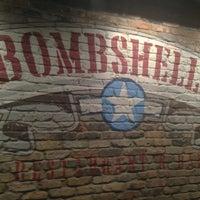 Photo taken at Bombshells Restaurant & Bar by Brian H. on 1/23/2013