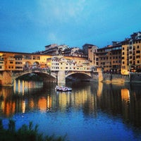 Photo taken at Ponte Vecchio by Antonio G. on 6/21/2013
