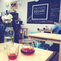 Photo taken at Two Fifty Square by Alessia G. on 10/10/2015
