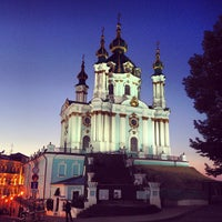 Снимок сделан в Андреевская церковь пользователем Tatiana L. 7/29/2013