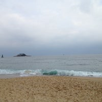Photo taken at Sokcho Beach by 중근 박. on 11/4/2012