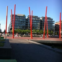 Photo taken at Grand Canal Dock by Gezer H. on 6/8/2013