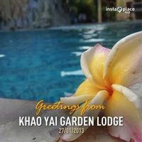 Photo taken at Khao Yai Garden Lodge by JeEd z Z Q. on 1/27/2013