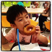 Photo taken at Mister Donut by しぶ や. on 6/22/2013