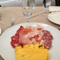 Photo taken at Osteria delle Erbe by Paola M. on 6/2/2013