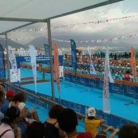 Photo taken at European Triathlon Championship 2013 by Mucahit K. on 6/15/2013