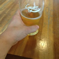 Photo taken at Corsaire Microbrasserie by Yves M. on 7/4/2013