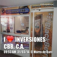 Photo taken at Inversiones CBB, C.A. by Jose A. on 3/31/2014
