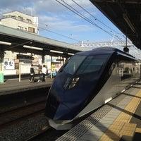 Photo taken at Senjuōhashi Station (KS05) by Jun I. on 10/10/2012