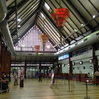 Photo taken at Siem Reap International Airport (REP) by Taro T. on 9/30/2012