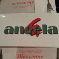 Photo taken at Angela Pizzeria & Restaurant by Quintyne S. on 10/4/2013