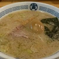 Photo taken at 中華そば 寅 藤沢店 by Hiro M. on 1/21/2018
