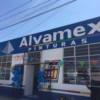 Photo taken at Pinturas Alvamex by Hugo T. on 3/6/2014