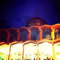 Photo taken at Masjid Agung Medan by Saifil C. on 11/24/2012