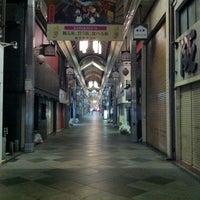 Photo taken at 新京極商店街 by Akito W. on 10/13/2012