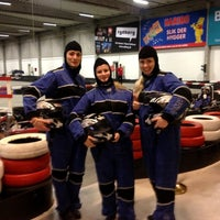 Photo taken at CPH Gokarts by Stine S. on 11/6/2012