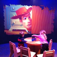 Photo taken at Disney Store by Mollie C. on 4/4/2013