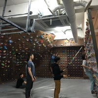 Photo taken at The JA's Climbing Center by Ancora K. on 3/6/2016