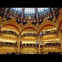 Photo taken at Galeries Lafayette Haussmann by Khairan B. on 1/30/2013