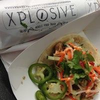 Photo taken at XPLOSIVE Food Truck by Jack S. on 10/12/2012