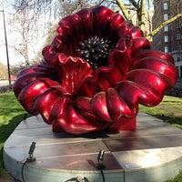 Photo taken at Flower Sculpture by denis . on 4/23/2013