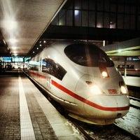 Photo taken at München Hauptbahnhof by Joe S. on 3/28/2013