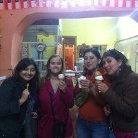 Photo taken at Helados Artesanales Elqui by Eugenia O. on 11/4/2012