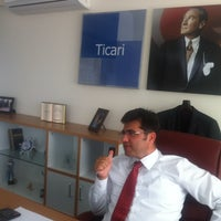 Photo taken at DenizBank Pınarbaşı Ticari Merkez by Bulent O. on 10/17/2014