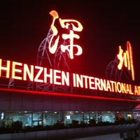 Photo taken at Shenzhen Bao'an International Airport (SZX) by Marcelo R. on 10/20/2012