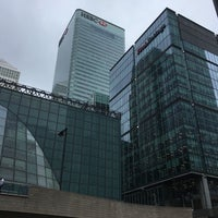 Photo taken at 25 Churchill Place by Sophie on 8/2/2016