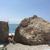 Photo taken at Calahonda Beach by Viktor S. on 7/7/2017