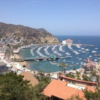 Photo taken at Santa Catalina Island by Tiara D. on 5/4/2013