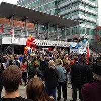 Photo taken at Kitchener City Hall by Jon F. on 10/5/2012