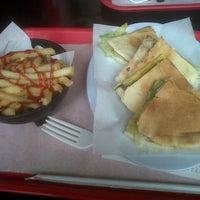 Photo taken at Rock Burger by Luis B. on 11/6/2012