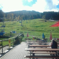 Photo taken at Blombergbahn by Edna H. on 10/8/2012