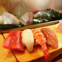 Photo taken at Daiwa Sushi by marta on 4/6/2015