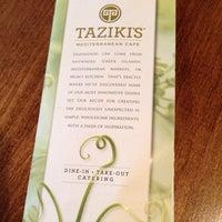 Photo taken at Taziki's Cafe of Charleston by Brian on 12/22/2013
