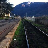 Photo taken at Stazione Barga-Gallicano by Sara G. on 3/2/2014