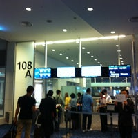 Photo taken at Gate 108 by Sangwon .. on 7/3/2013