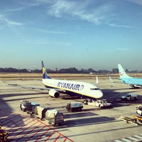 Photo taken at Brussels South Charleroi Airport (CRL) by Pierre K. on 7/21/2013