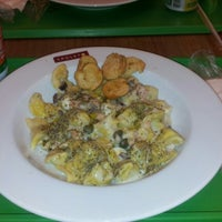Photo taken at Spoleto Culinária Italiana by George E. on 12/28/2012