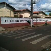 Photo taken at CEUP - Centro Universitário de Parauapebas by Rubens M. on 8/18/2013