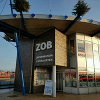 Photo taken at ZOB Westerland by Phil v. on 12/30/2016