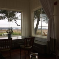 Photo taken at The Hilltop Dining Room at The Carneros Inn by Laura C. on 11/12/2017