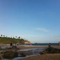Photo taken at Praia do Buracão by Leonardo B. on 11/15/2012